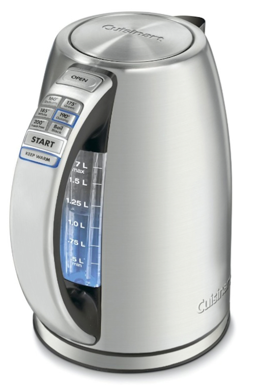 Breville Coffee Maker Vs Cuisinart : Breville BKE820XL vs. Cuisinart CPK-17 Variable Temperature Kettles, What s The Difference ...
