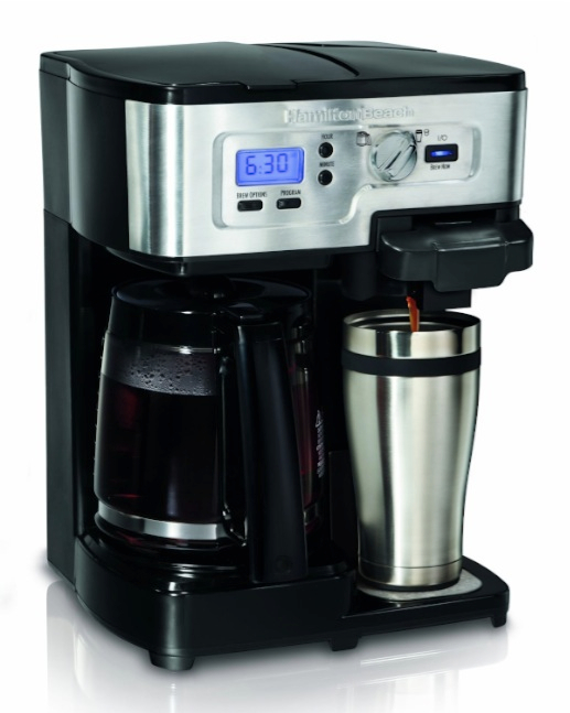 Coffee Maker With K Cup Best Two Way Coffee Maker For Under $100: Hamilton Beach 2 ...