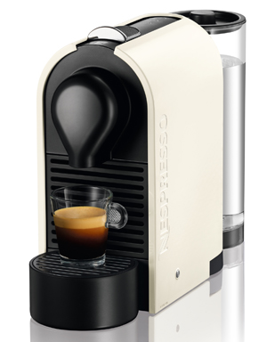 Nespresso U Coffee Maker With Grinder And Frother