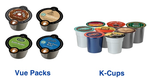 Keurig Single-serve Cups & Pods. Showing 40 of 71 results that match your query. Search Product Result. Product - The Original Donut Shop Regular, Coffee Keurig K-Cup Pods, Medium Roast, 18 Count ***Discontinued by CW***Keurig Vue Pack Green Mountain Coffee Breakfast Blend Coffee, 16ct. Product - Keurig Vue Pack Barista Prima Coffeehouse.