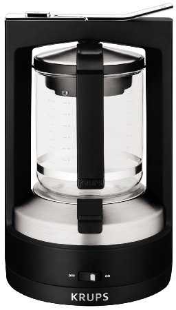 Cookworks Xq668t Filter Coffee Maker Reviews : KRUPS KM468850 Moka 10-Cup Brewer Filter Coffee Maker Review Coffee Gear at Home