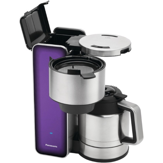 One Cup Stainless Steel Coffee Maker : Review of Panasonic