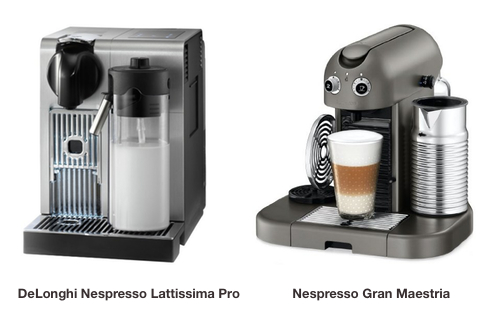 Nespresso Lattissima Pro vs Gran Maestria What Is The Difference?  Coffee G -> Nespresso Gran Maestria
