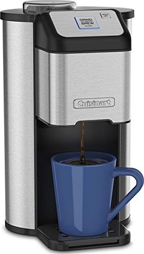Cuisinart Single Cup Coffee Maker Vs Keurig : Review of Cuisinart Single Cup Grind & Brew Coffeemaker Coffee Gear at Home