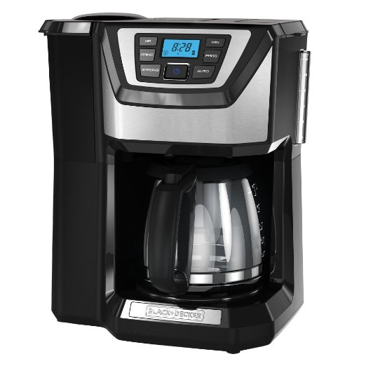 Black And Decker Coffee Maker Brew Strength : Black and Decker CM5000B vs. Cuisinart DGB-625BC Grind-and-Brew, Which Is Best To Buy? Coffee ...
