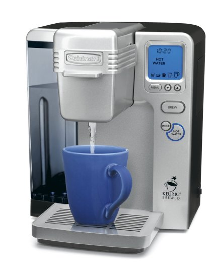 Cuisinart Single Cup Coffee Maker Vs Keurig : Which Coffee Makers Have a Hot Water System? Coffee Gear at Home