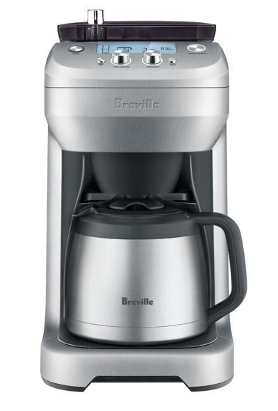 Breville Coffee Maker Vs Cuisinart : Comparison: Breville Grind Control vs. Cuisinart Grind and Brew Coffee Gear at Home