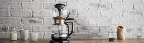 Siphon Coffee Maker How It Works : KitchenAid Siphon Coffee Brewer: How It Works and Should You Buy It... Coffee Gear at Home
