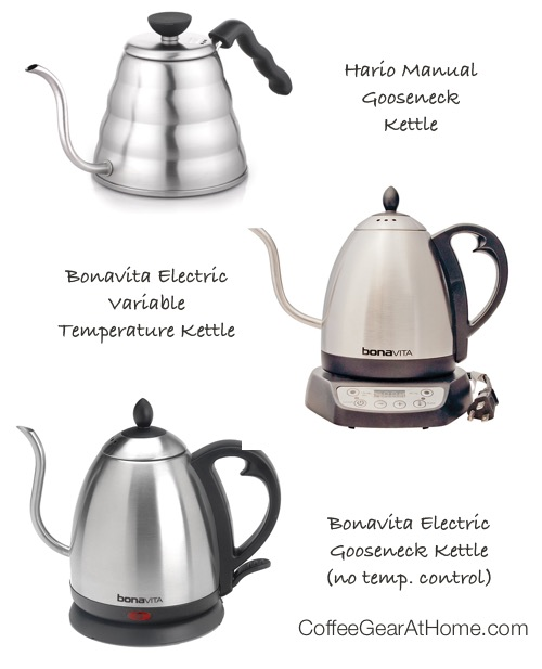 What Is a Gooseneck Kettle and Do You Really Need One? Coffee Gear at Home