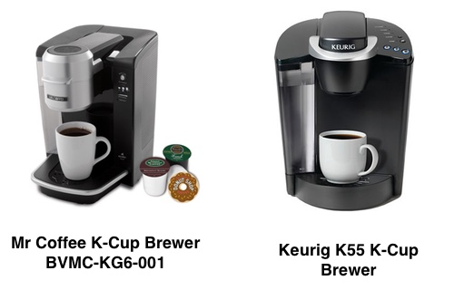 Mr Coffee Maker K Cup : What Is The Difference Between a Keurig and Mr Coffee K-Cup Brewer? Coffee Gear at Home