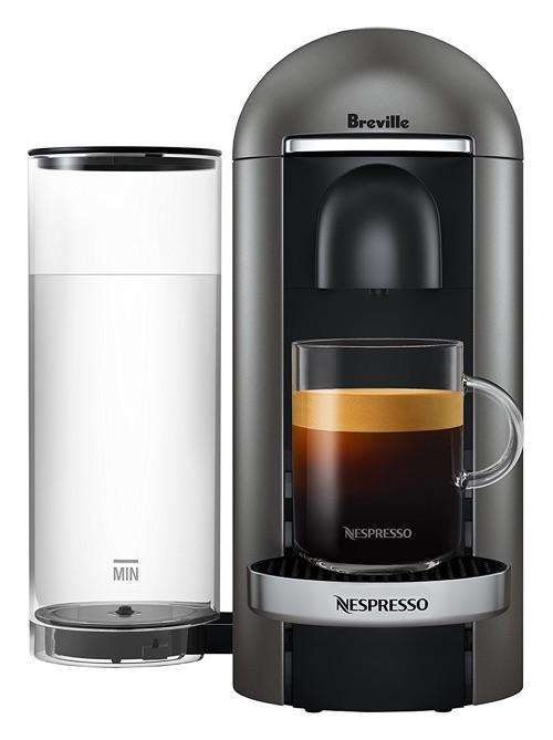 Nespresso Vertuo Plus Deluxe Coffee and Espresso Machine Automatic French Press Coffee Machine