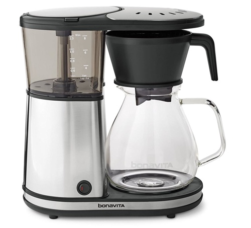 Bonavita BV1901GW Glass Carafe Brewer How To Make Black Coffee At Home Without Coffee Maker